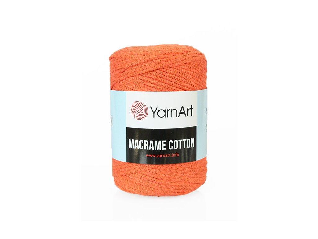 17648 2 prize macrame cotton 770 cihlova