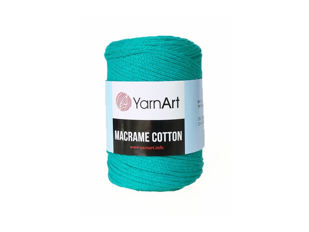 17654 1 prize macrame cotton 783 svetla petrolejova