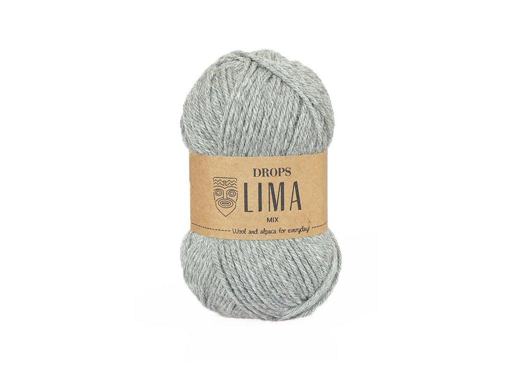 Příze DROPS Lima mix - 9015 šedá