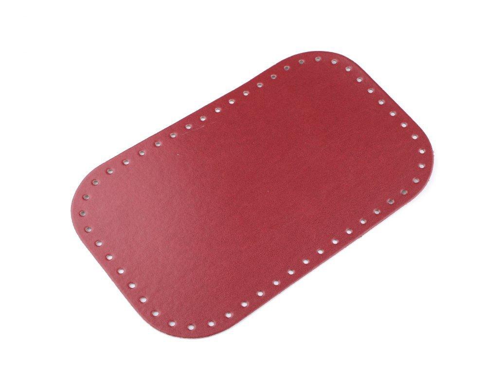 17894 dno na kabelku 18x28 cm 780279 5 cervena