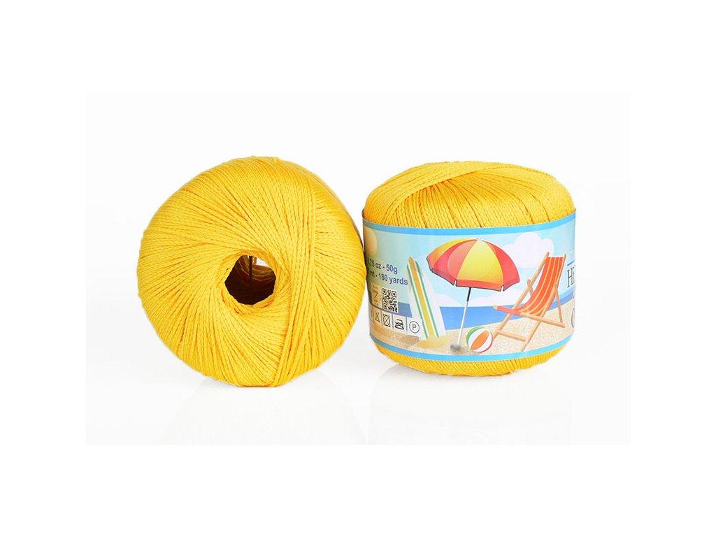 Příze Bikini 80602 - žlutá