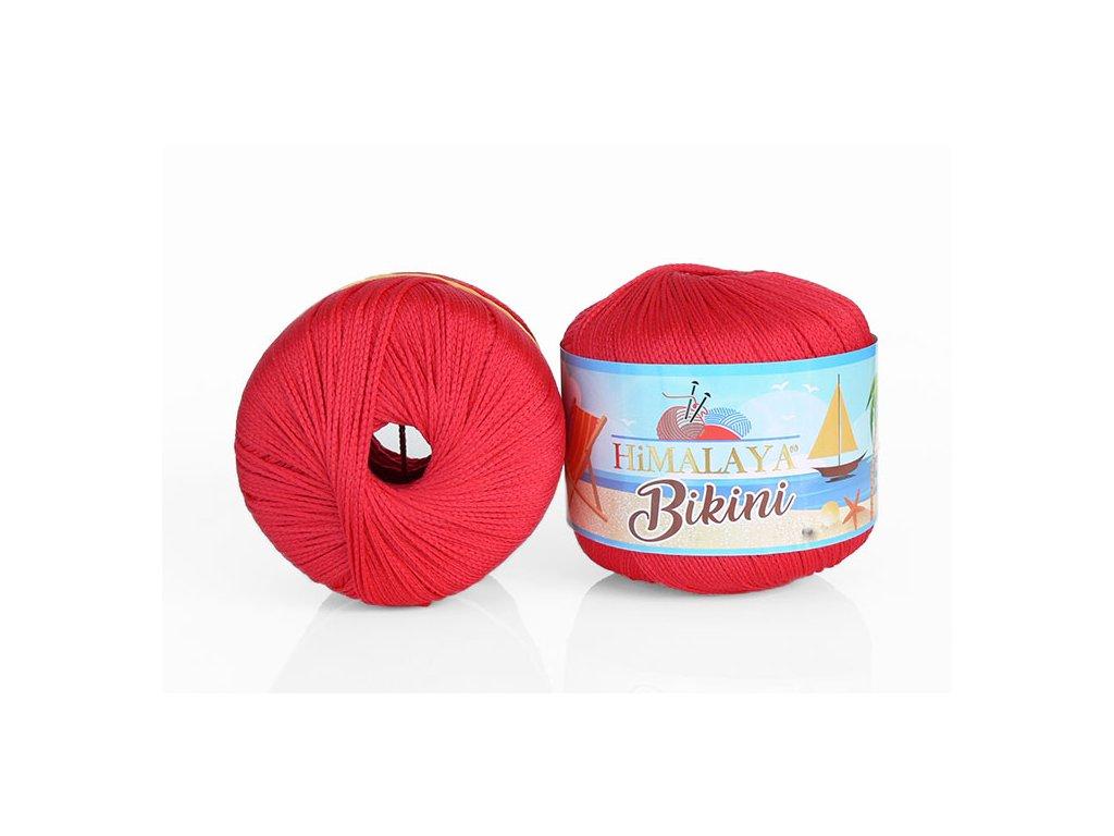 Příze Bikini 80607 - červená