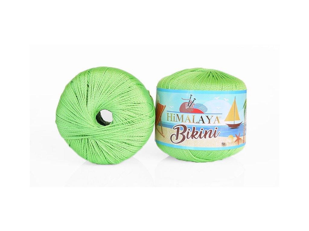 Příze Bikini 80609 - svítivá zelená