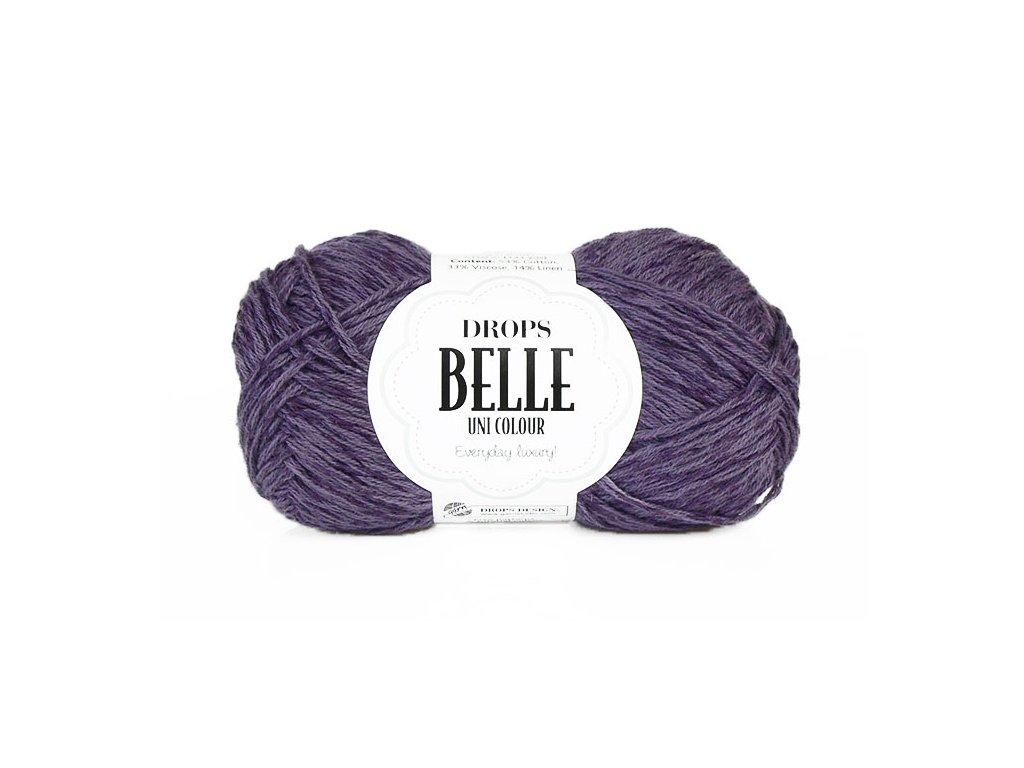 Příze DROPS Belle 19 - fialka