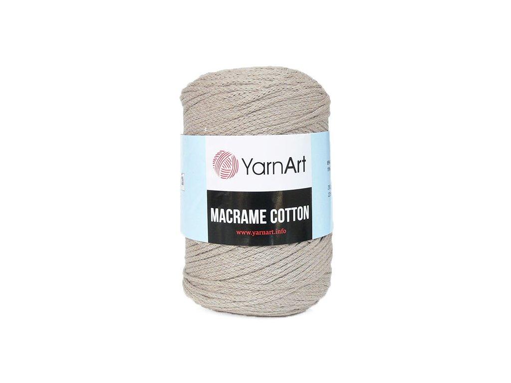 Příze Macrame Cotton 768 - béžová