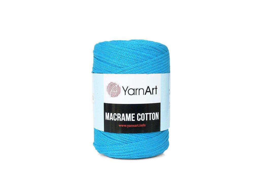 Příze Macrame Cotton 780 - tmavý tyrkys