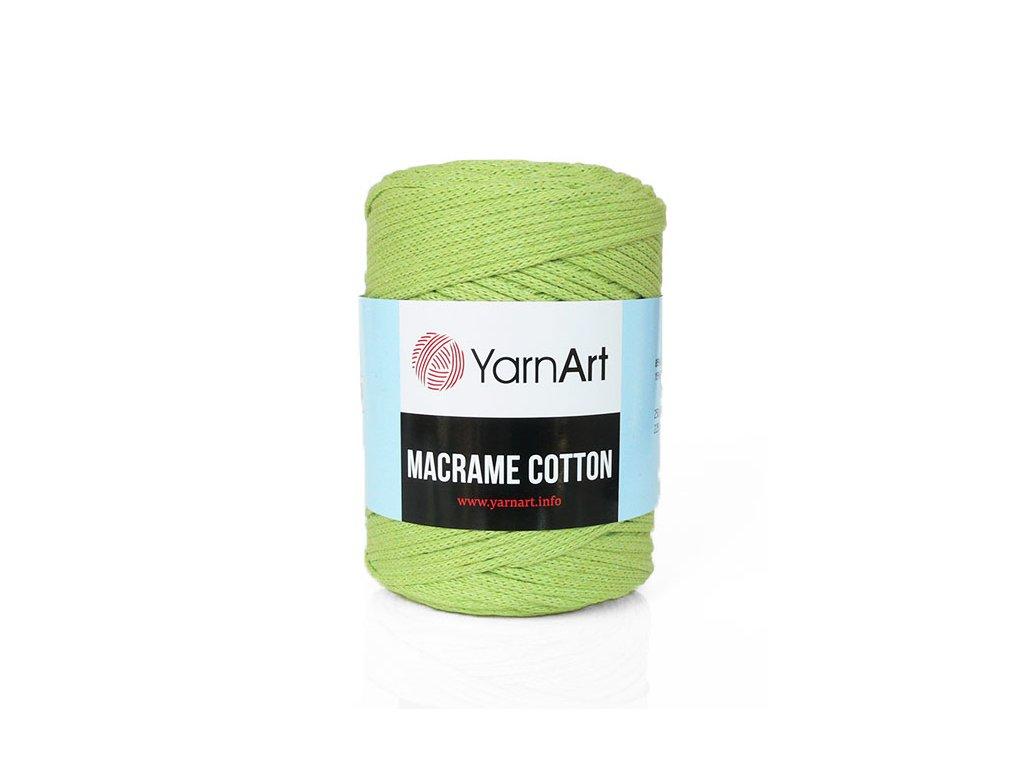 Příze Macrame Cotton 755 - limetková