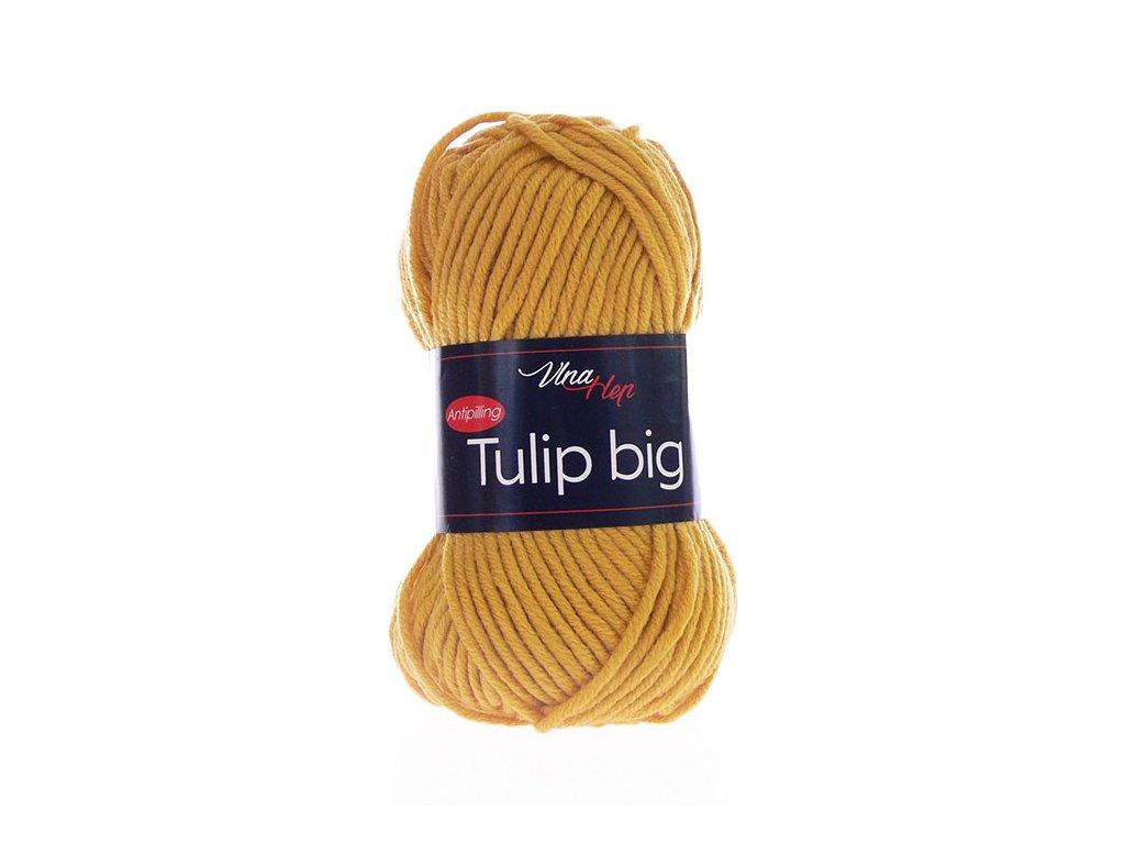 Příze Tulip Big 4489 - hořčicová