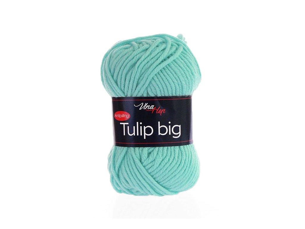 Příze Tulip Big 4136 - světlá tyrkysová