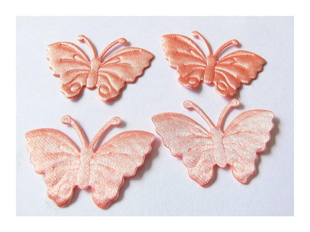 Aplikace motýl 19175 - oranžová