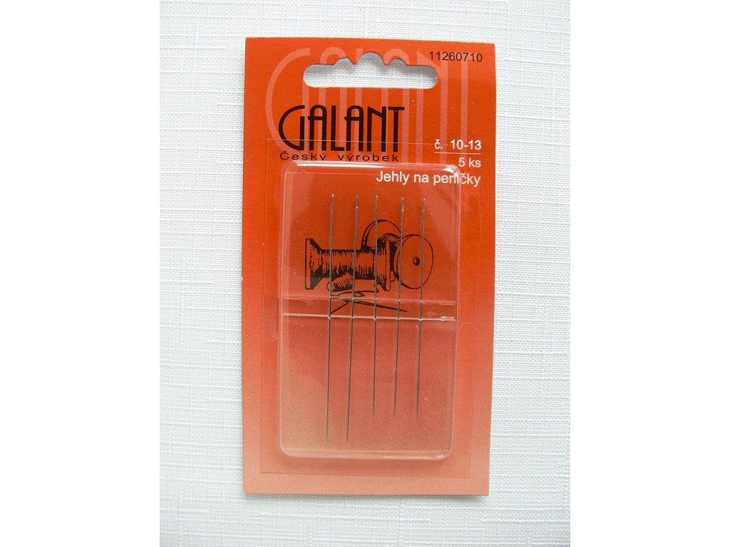 Jehly na perličky Galant - č.10-13