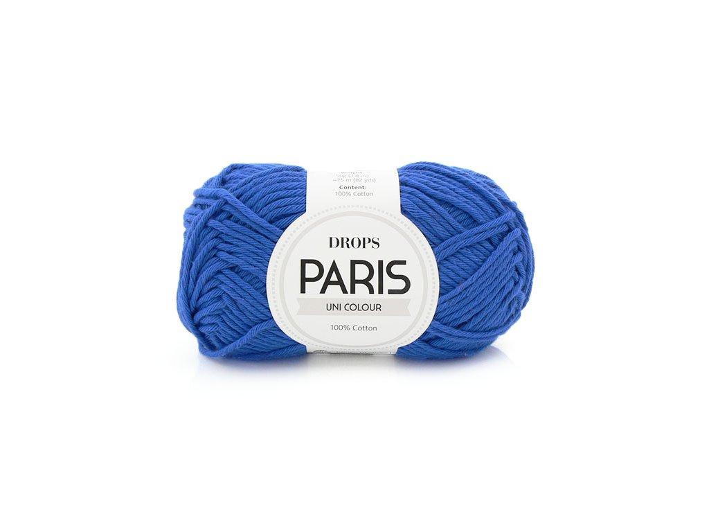 Příze Drops Paris 09 - modrá