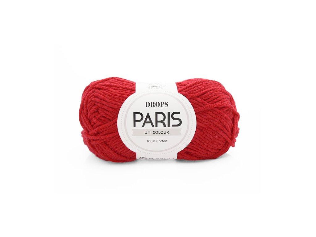 Příze Drops Paris 12 - červená