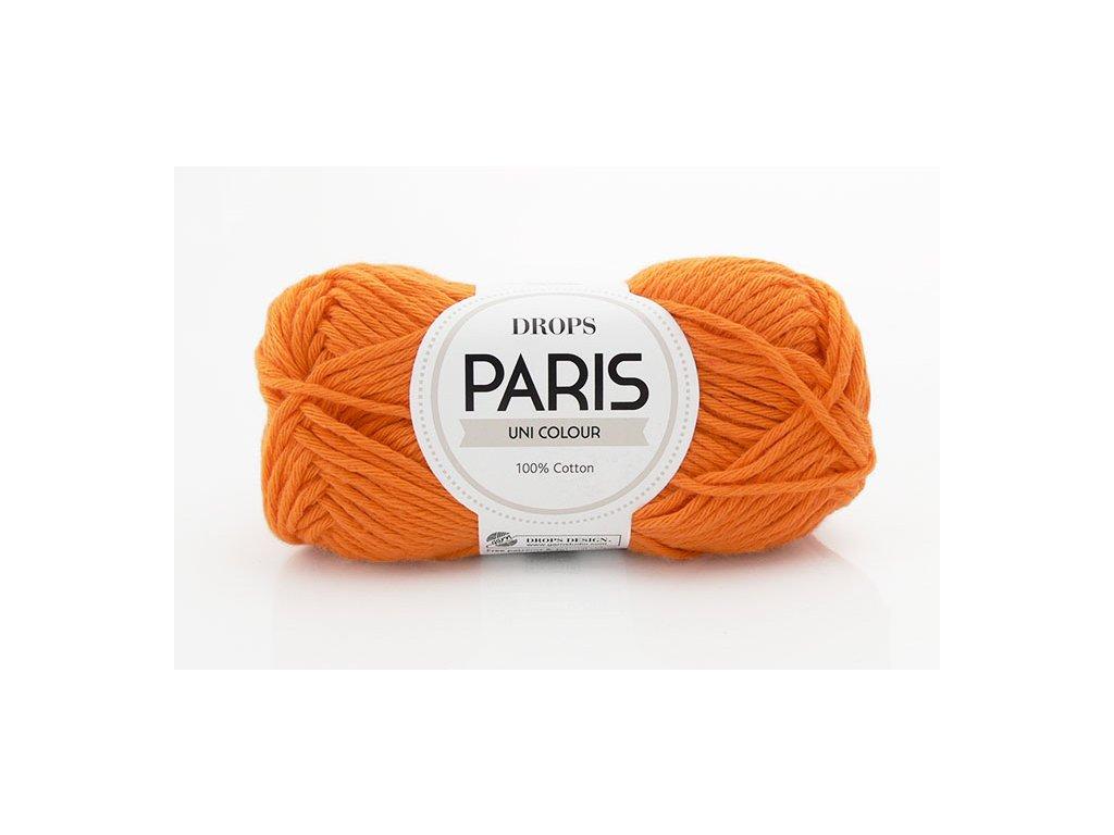 Příze Drops Paris 13 - oranžová