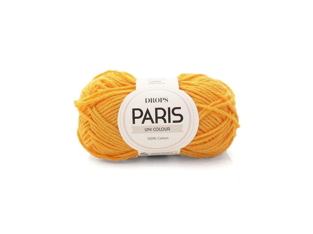 Příze Drops Paris 14 - zlatá žlutá
