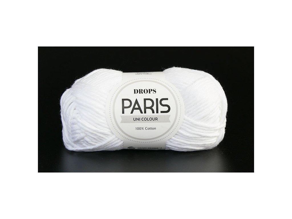 Příze Drops Paris 16 - bílá