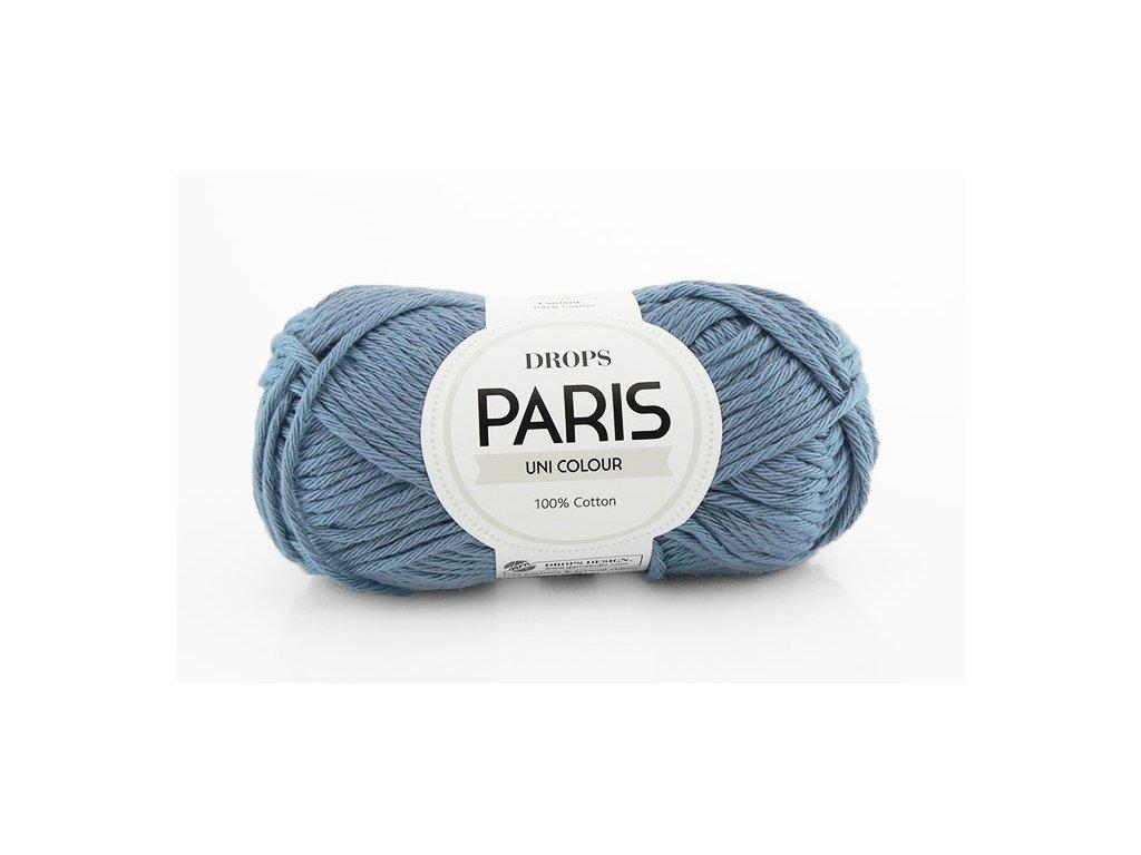 Příze Drops Paris 30 - džínová modrá