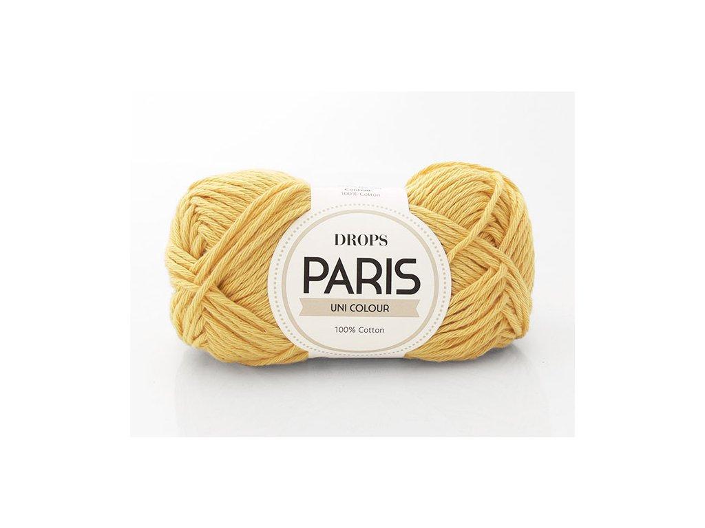 Příze Drops Paris 35 - žlutá