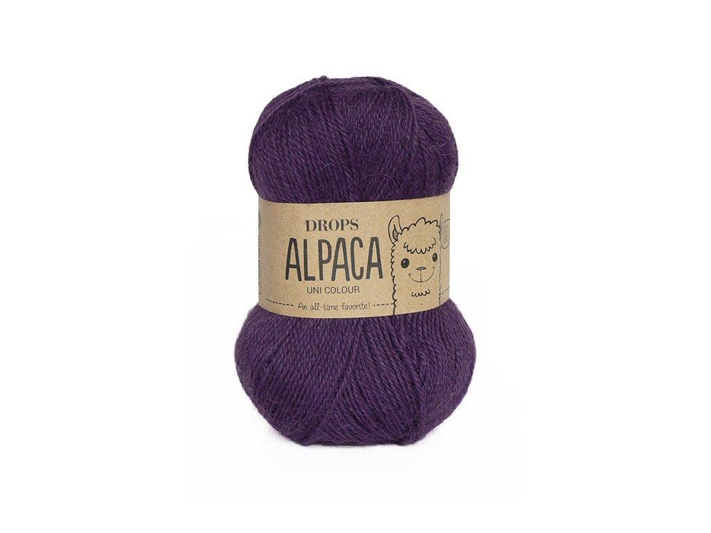 Příze DROPS Alpaca 4400 - lilek