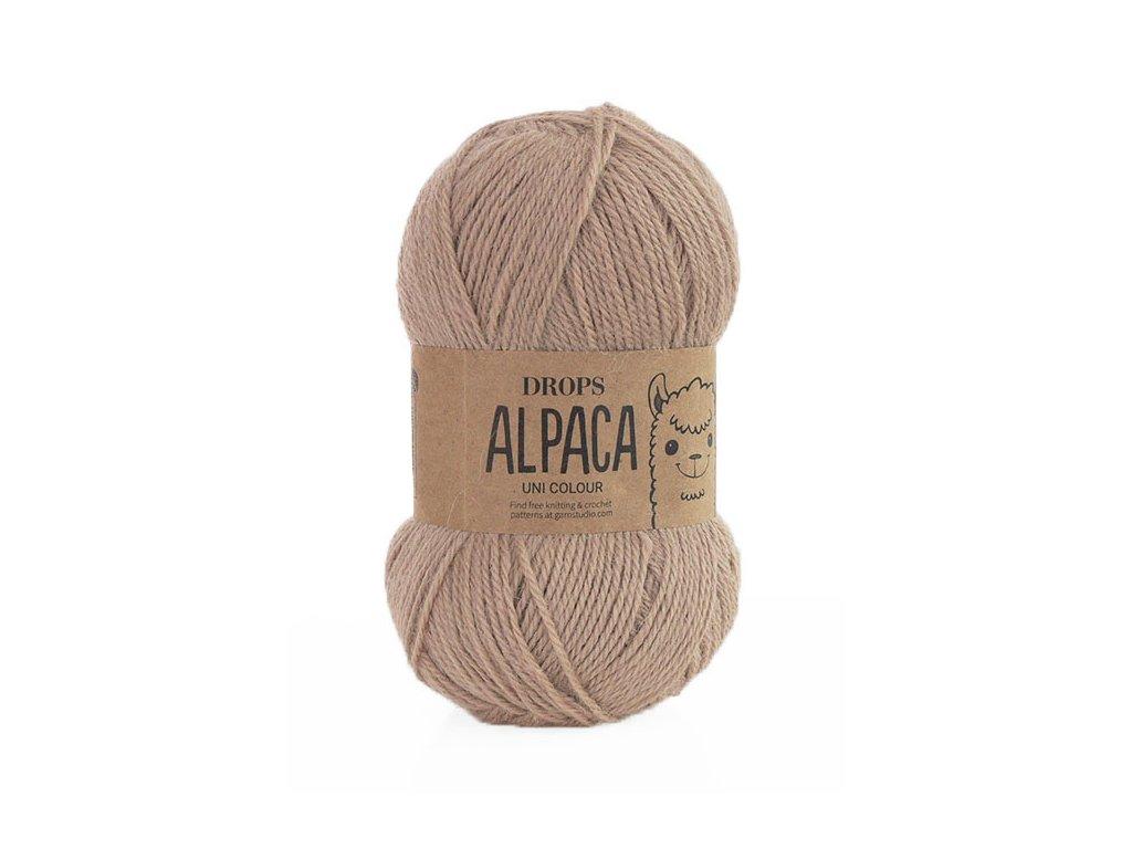 Příze DROPS Alpaca uni colour 0302 - camel (velbloudí)