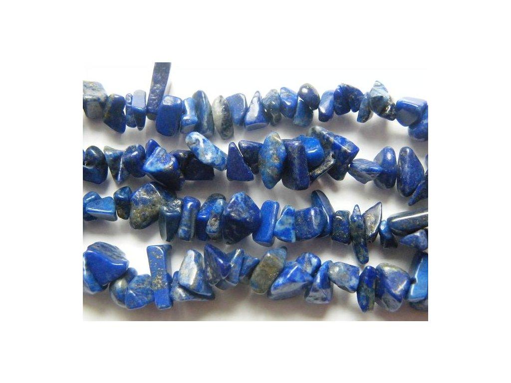 Lapis lazuli, zlomky, 10cm návleku, cca 7-9g