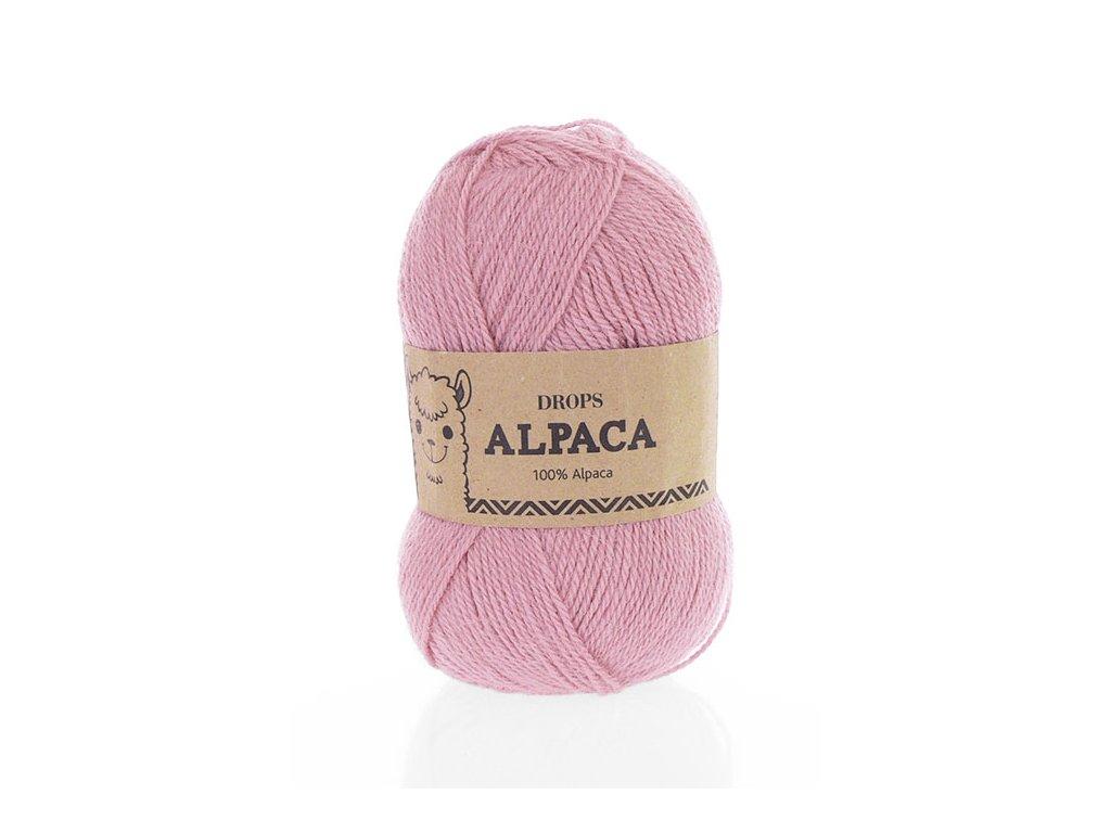 Příze DROPS Alpaca uni colour 3720 - růžová