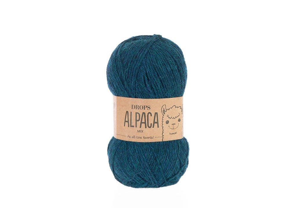 Příze DROPS Alpaca mix 7240 - petrol