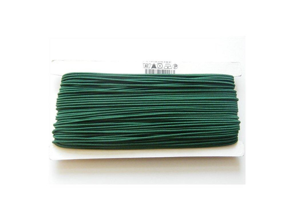 Klobouková guma 1 - 1,2 mm - zelená 7801- 10 m