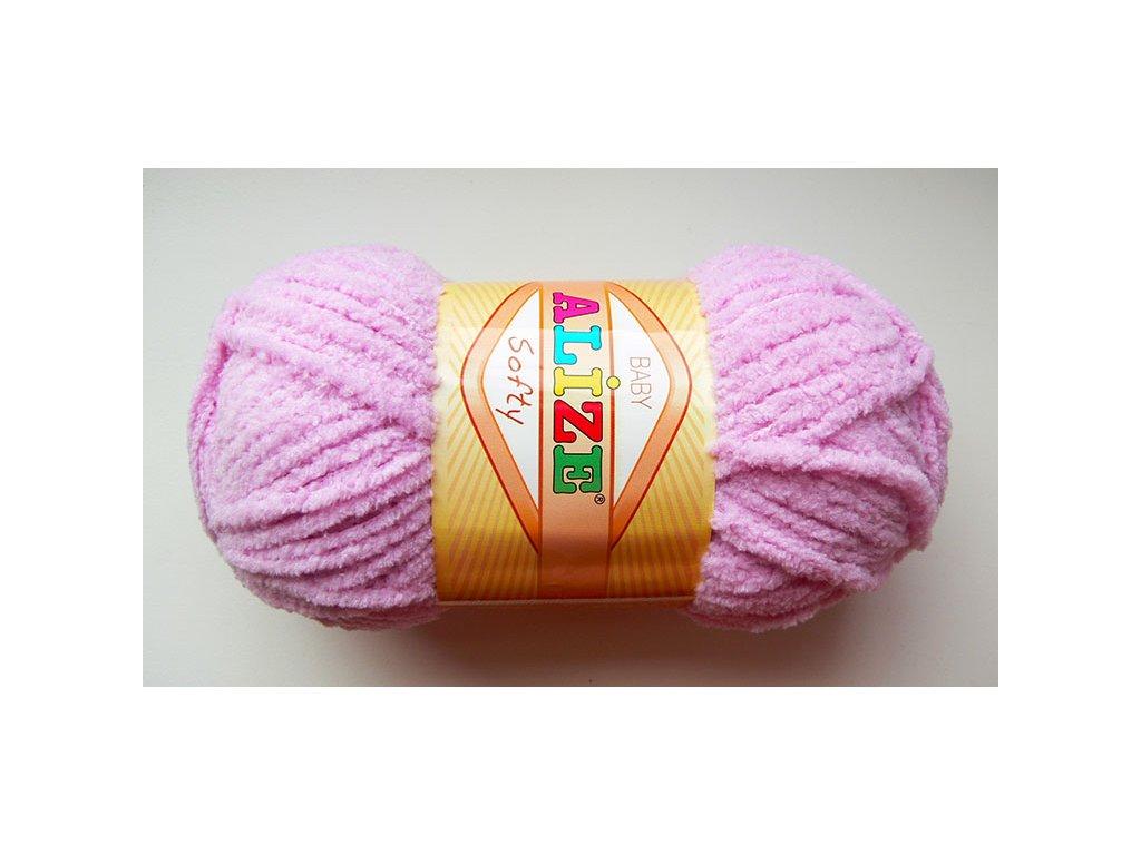 Příze Softy - 98 - růžovofialová