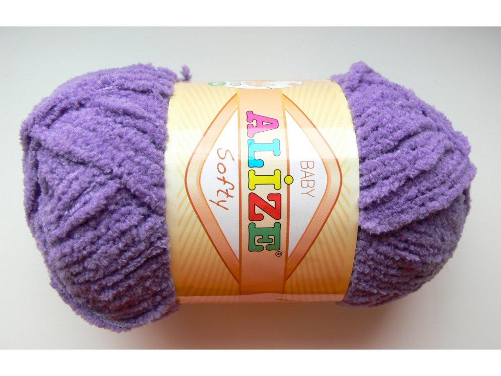 Příze Softy - 42 - fialková
