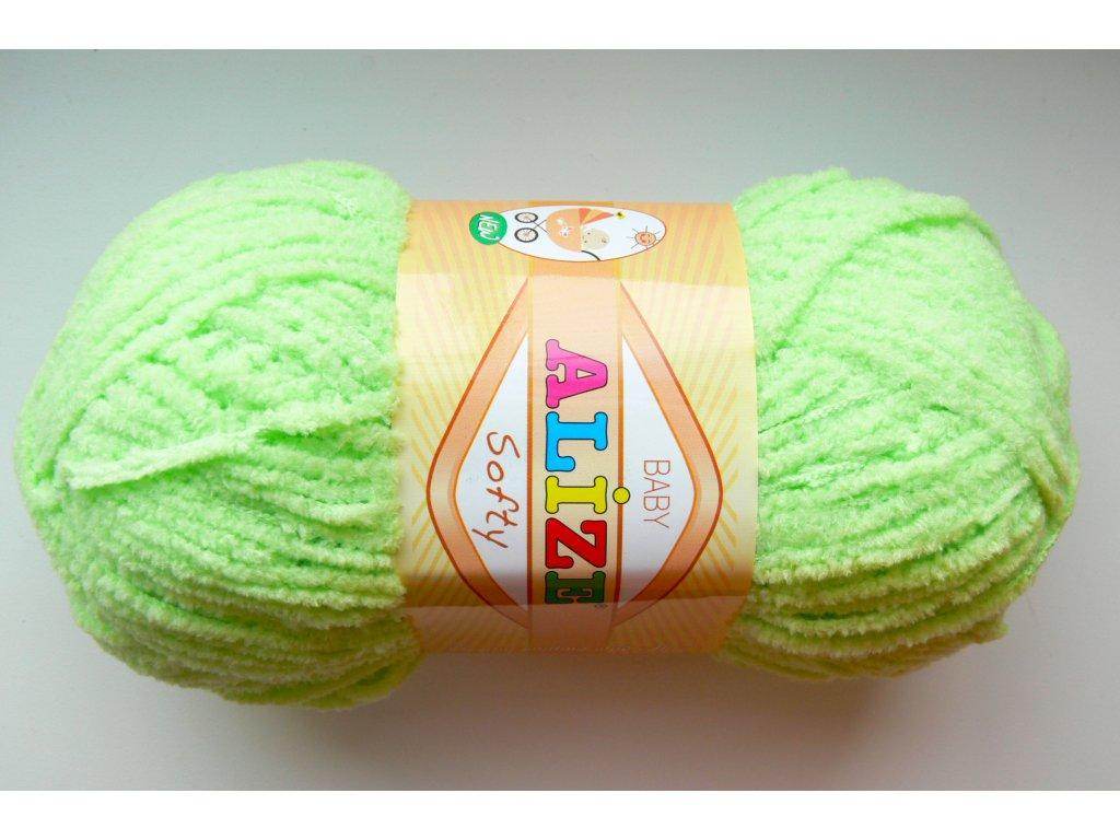 Příze Softy - 41 - světle zelená