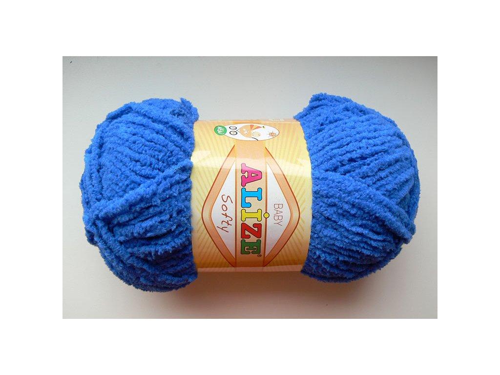 Příze Softy - 141 - královská modrá