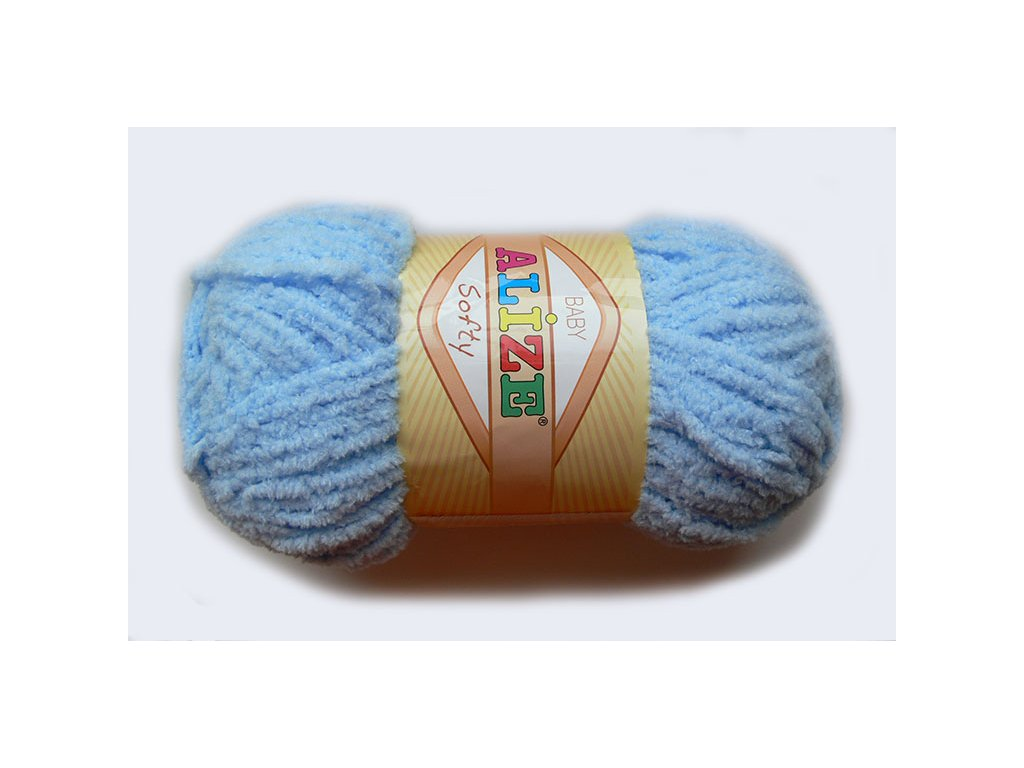Příze Softy - 350 - světle modrá