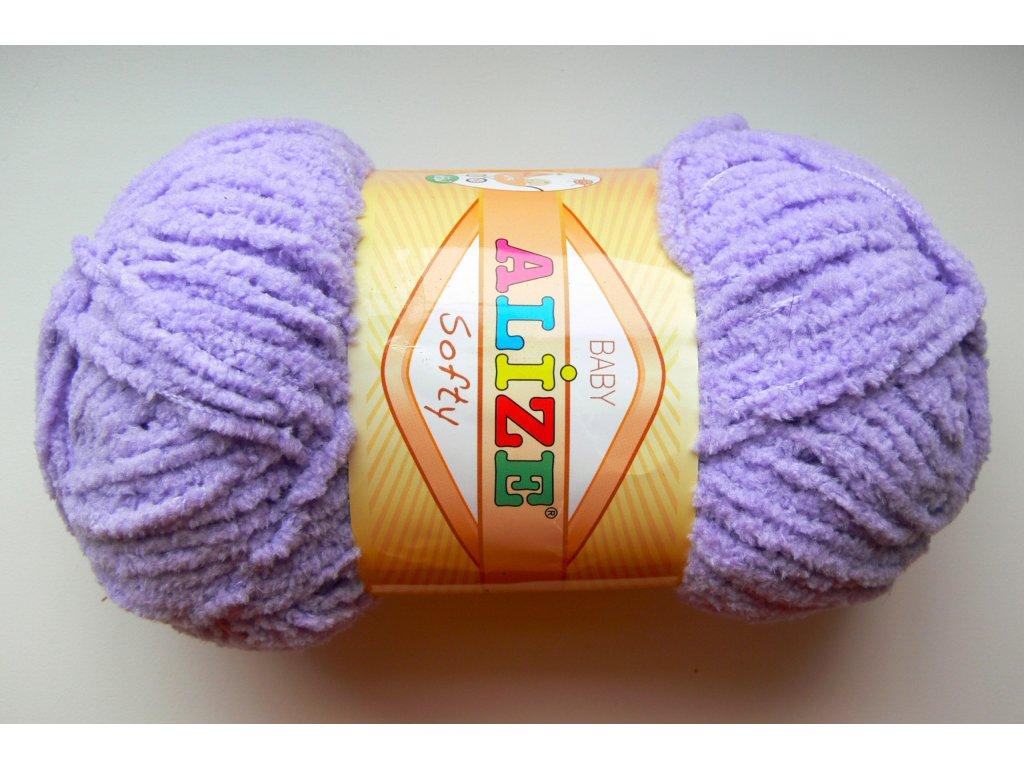 Příze Softy - 158 - levandulová