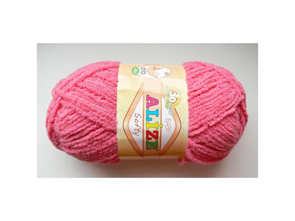 Příze Softy - 33 - růžová