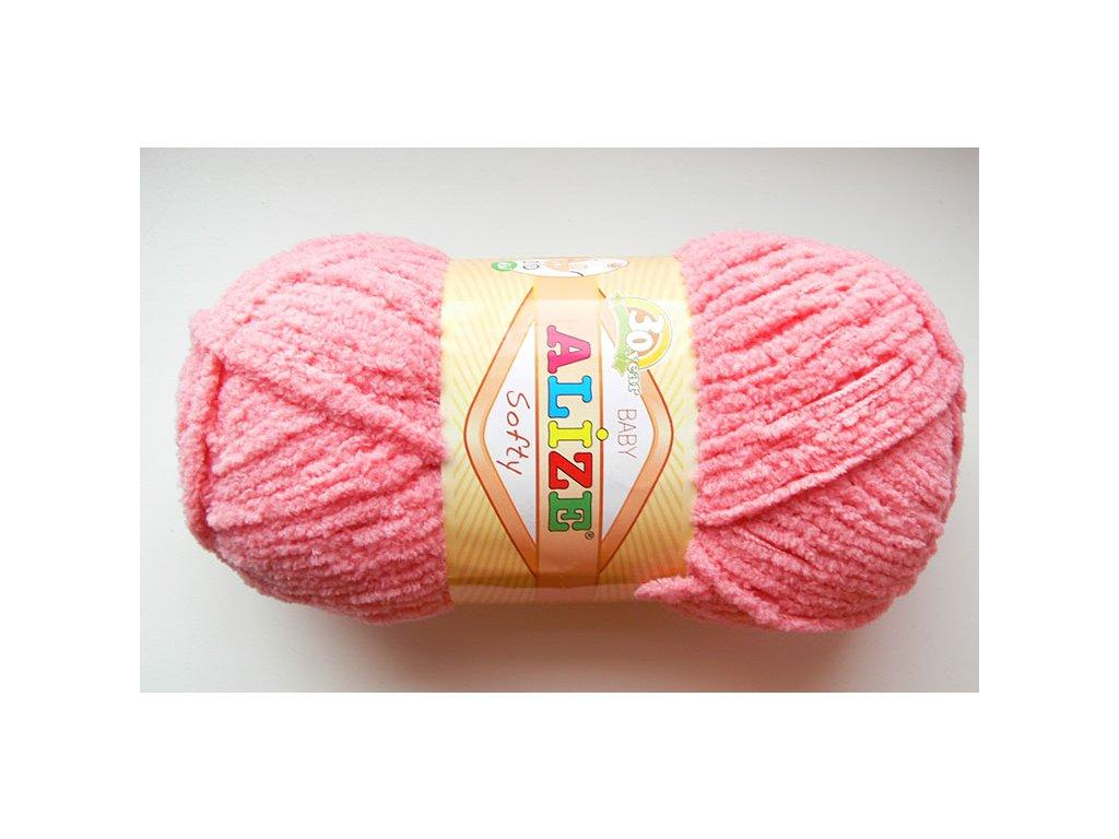 Příze Softy - 265 - růžová