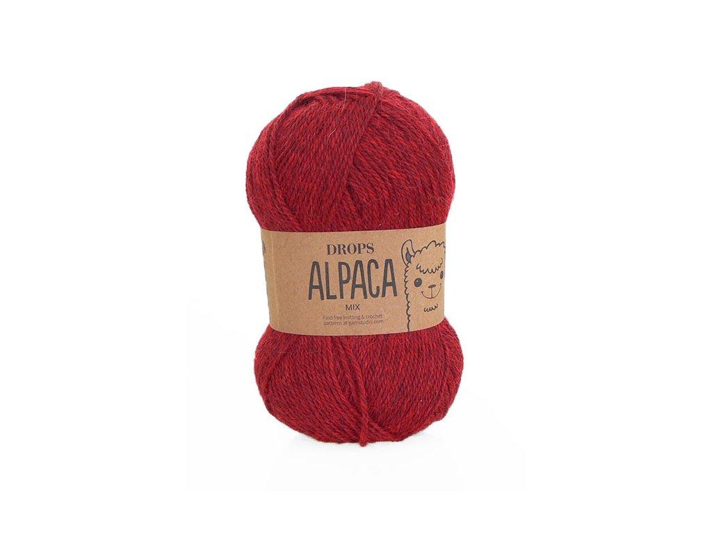 Příze DROPS Alpaca mix 3650 - kaštanová