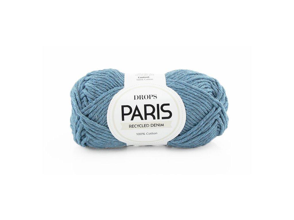 Příze Drops Paris denim 101 - světlá modrá
