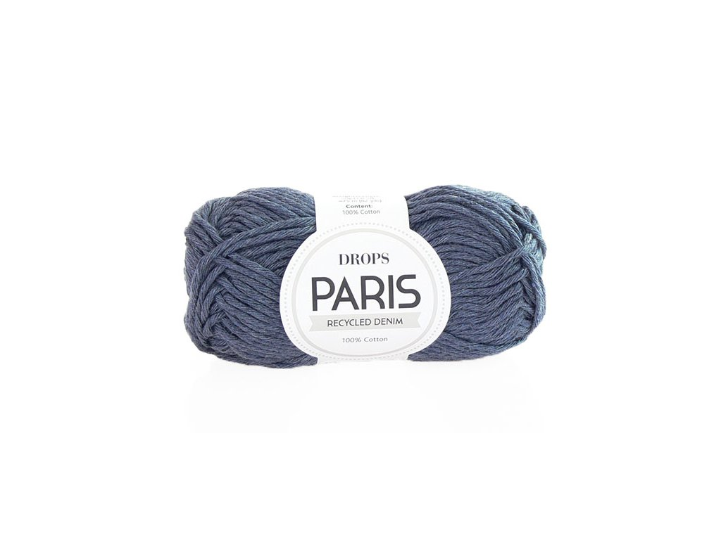 Příze Drops Paris denim 103 - sepraná modrá