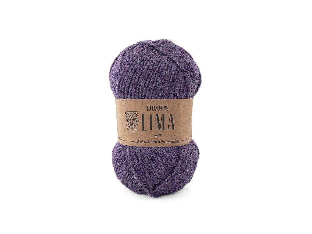 Příze DROPS Lima mix - 4434 purpurová/fialová