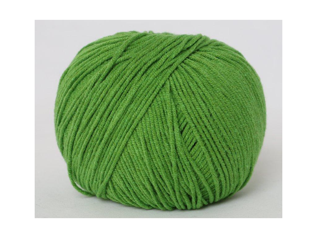 Příze Jeans 8156 trávová zelená