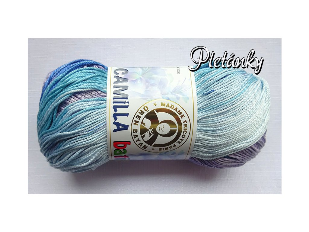 Příze Camilla batik MTP 103