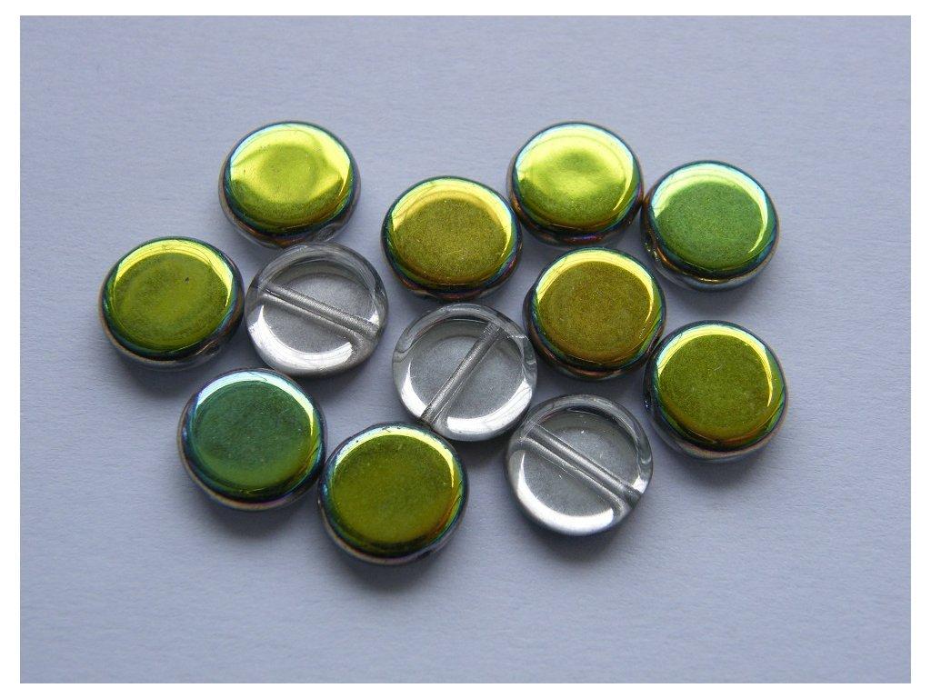 Placka zeleno-modrá 10mm, 00030/28101
