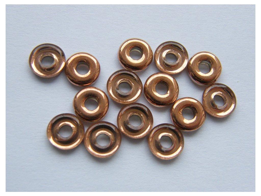 Kroužek 8 mm, 00030/27101 - s měděným pokovem