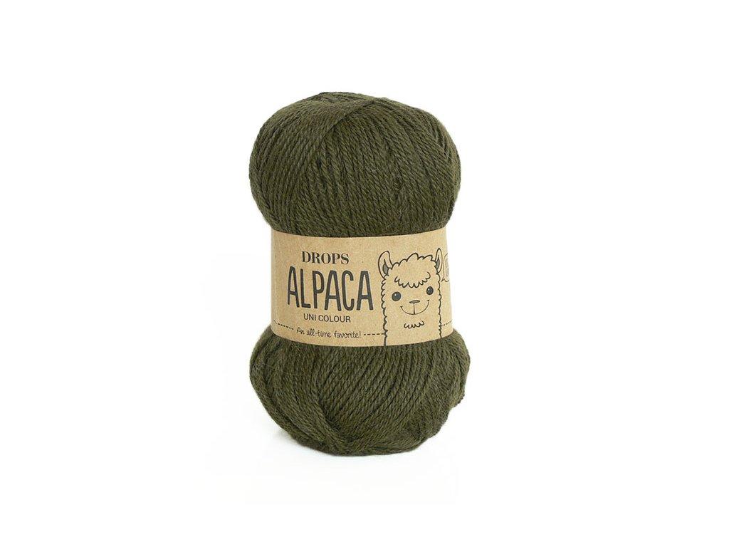 Příze DROPS Alpaca uni colour 7895 - tmavá zelená