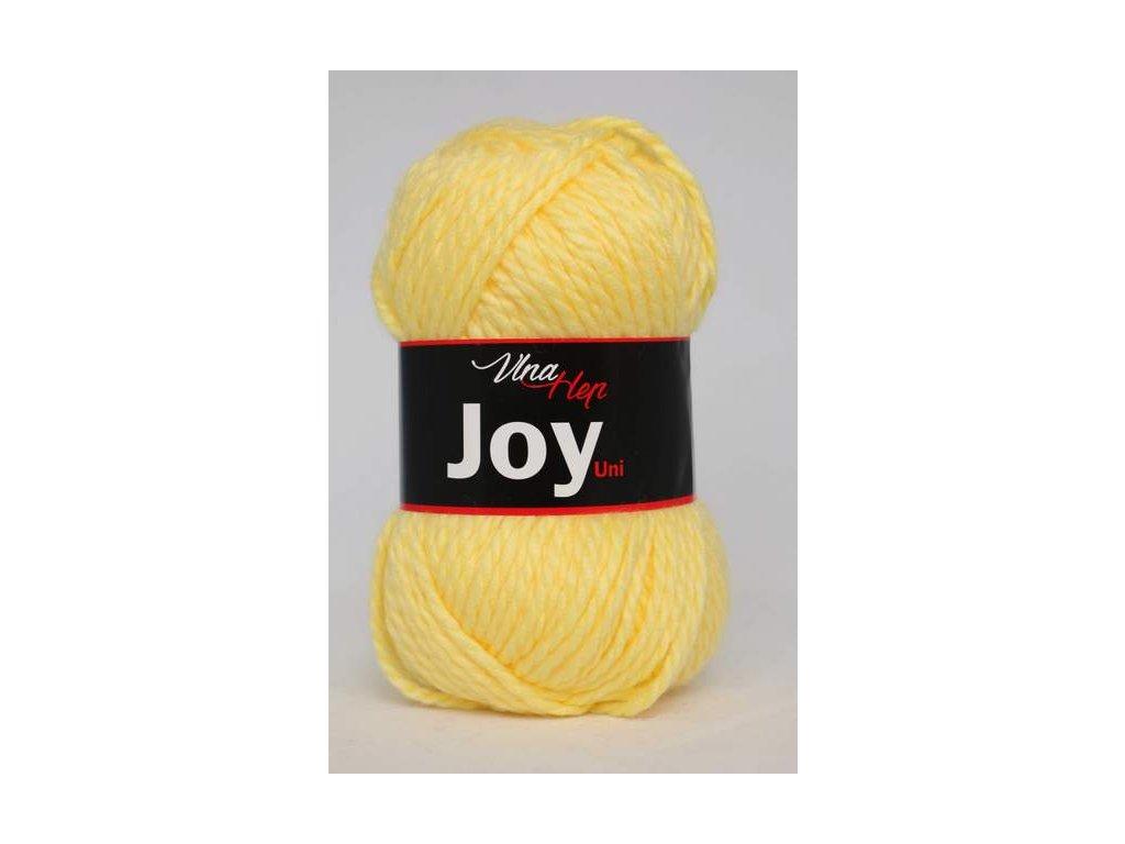 Příze Joy Uni 4177 - žlutá