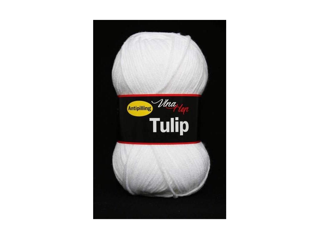 Příze Tulip 4002 - bílá