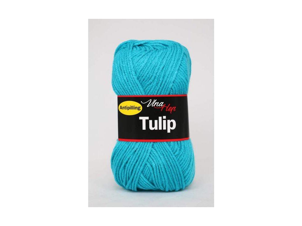 Příze Tulip 4124 - tyrkysová