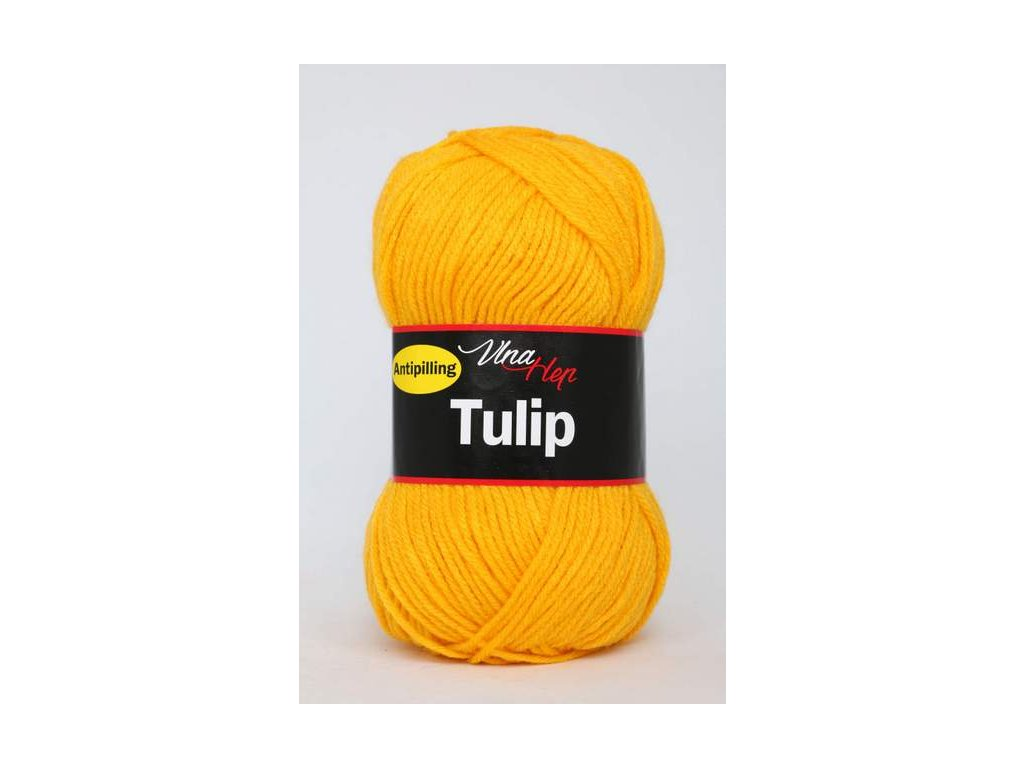 Příze Tulip 4182 - teplá žlutá