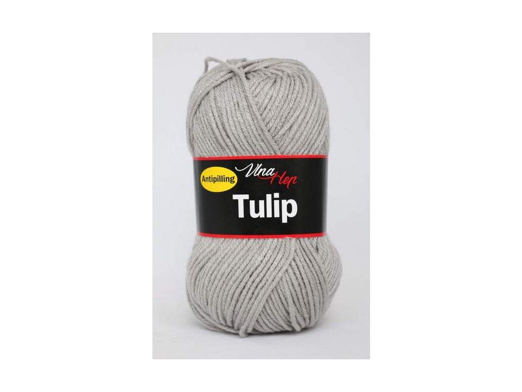 Příze Tulip 4231 - šedá